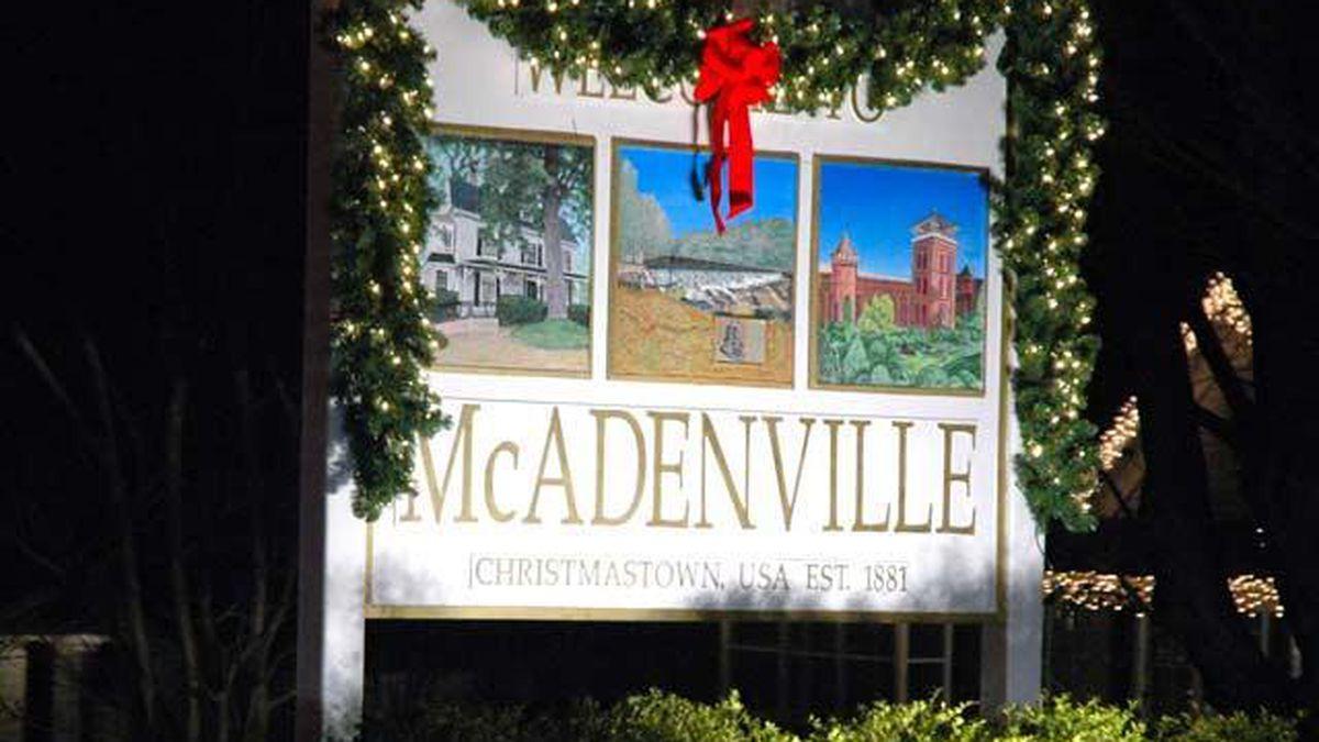 McAdenville to turn on popular Christmas lights amid coronavirus outbreak