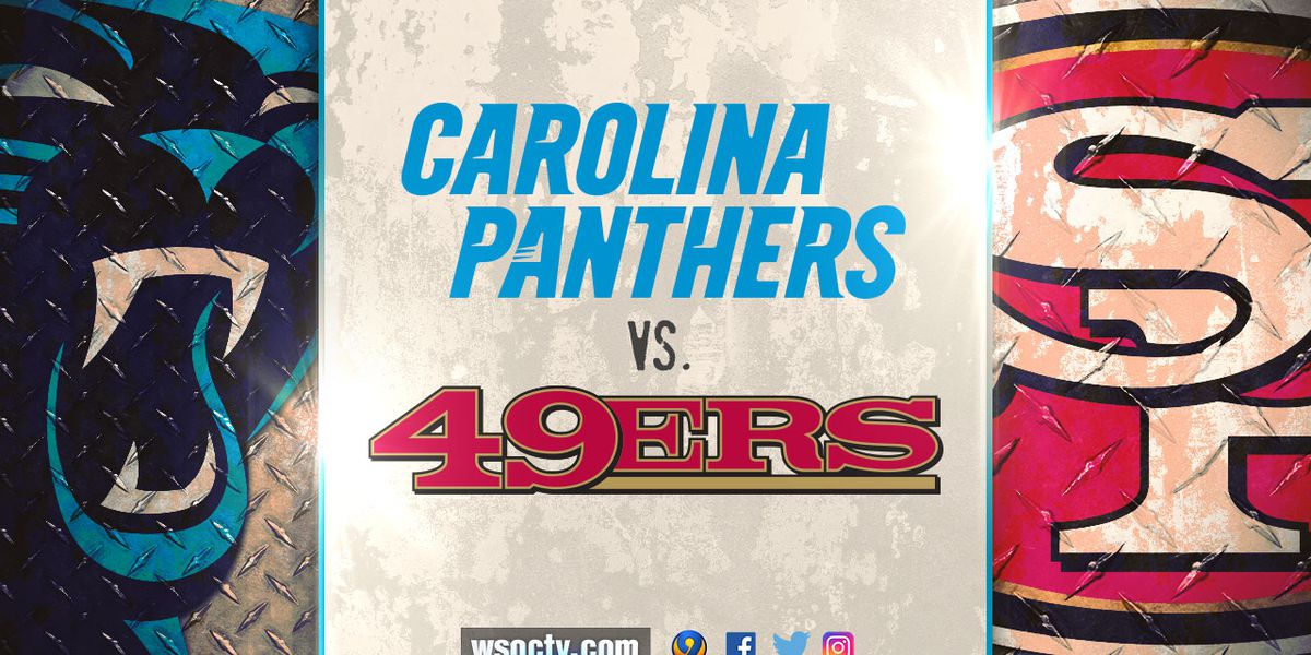 Streaking Panthers to measure themselves against undefeated 49ers