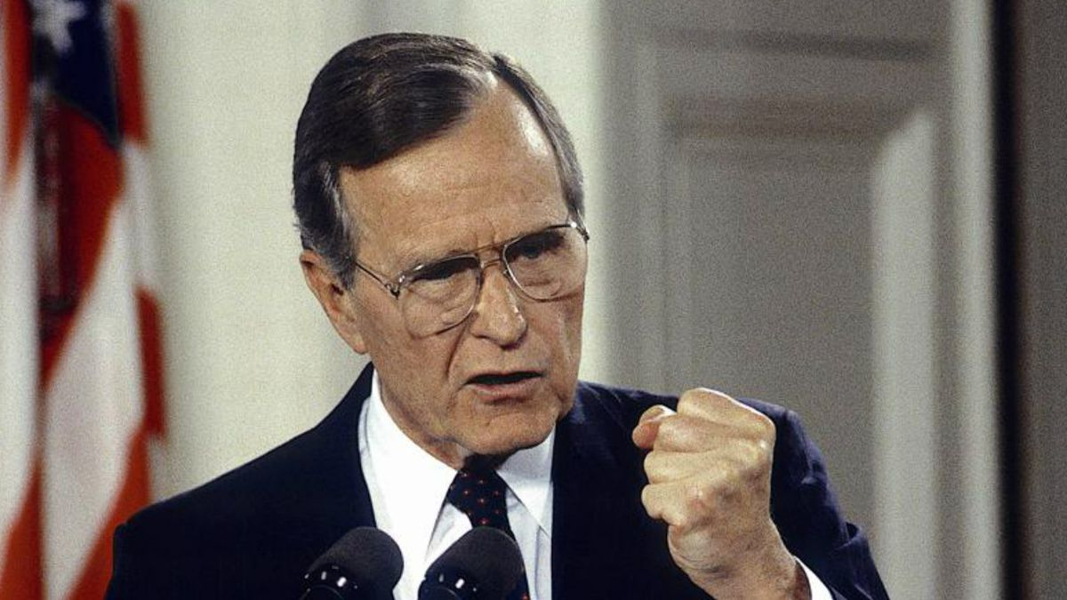 George H.W. Bush: In his own words
