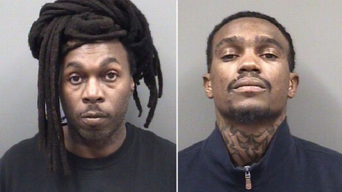 Pair charged in connection with deadly attempted robbery in Rowan County