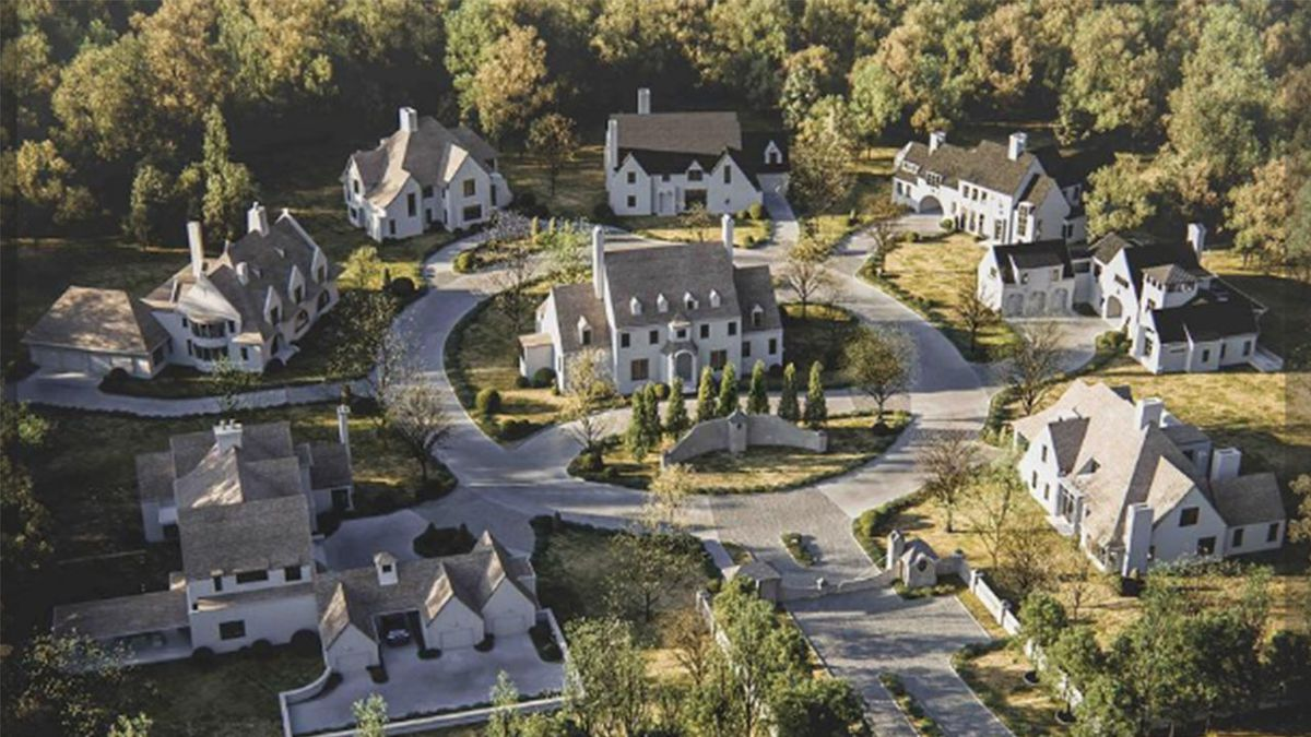 Luxury homes planned as part of small development in south Charlotte