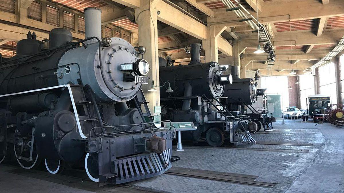NC Transportation Museum reopens exhibits buildings