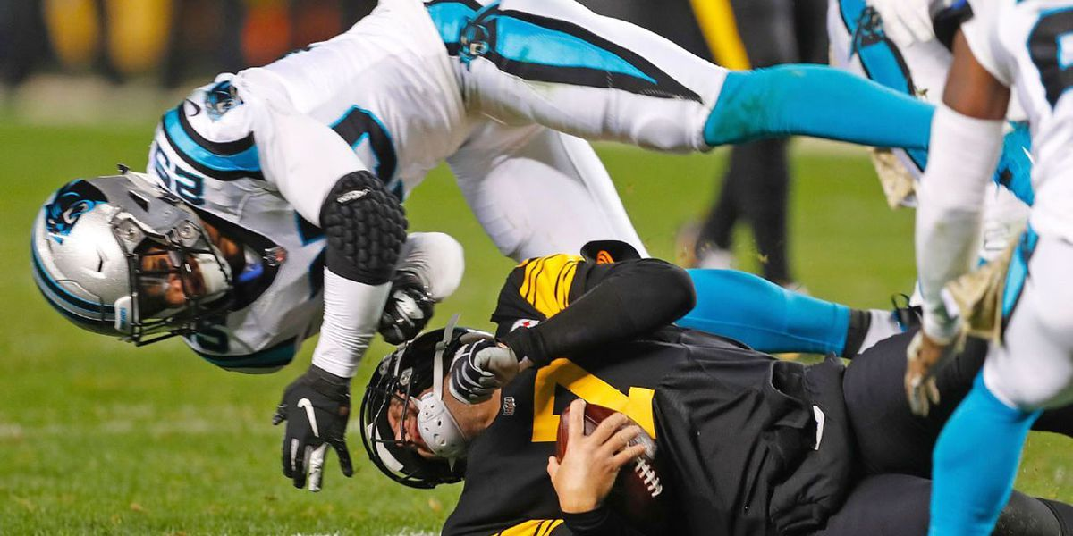 Panthers' Eric Reid ejected for hit on Ben Roethlisberger