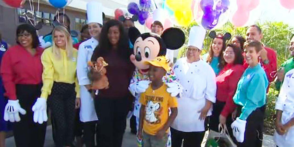 SC boy who gave up birthday money to help Dorian evacuees gets Disney trip