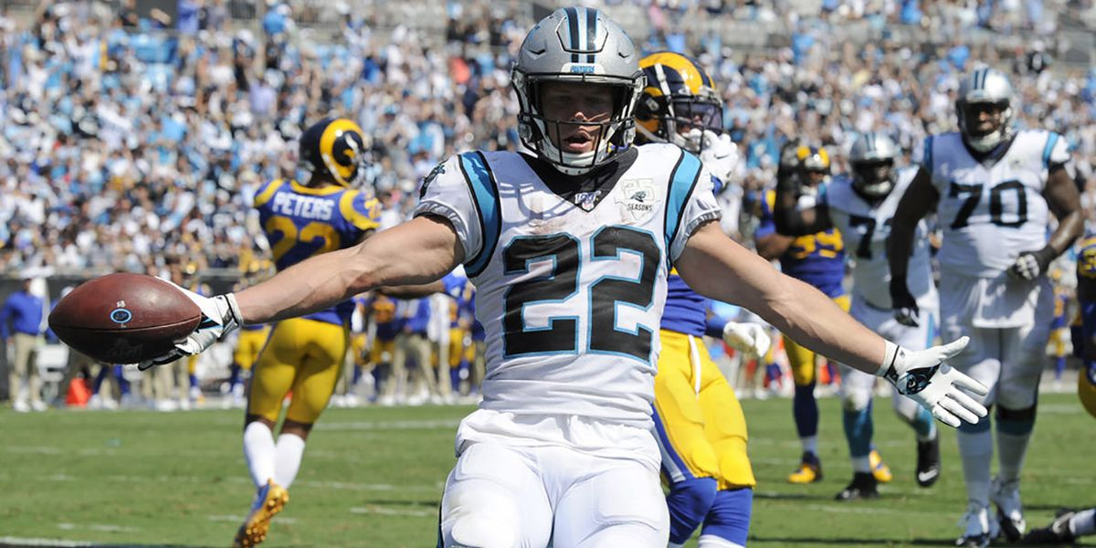 Panthers RB Christian McCaffrey could use some help on offense
