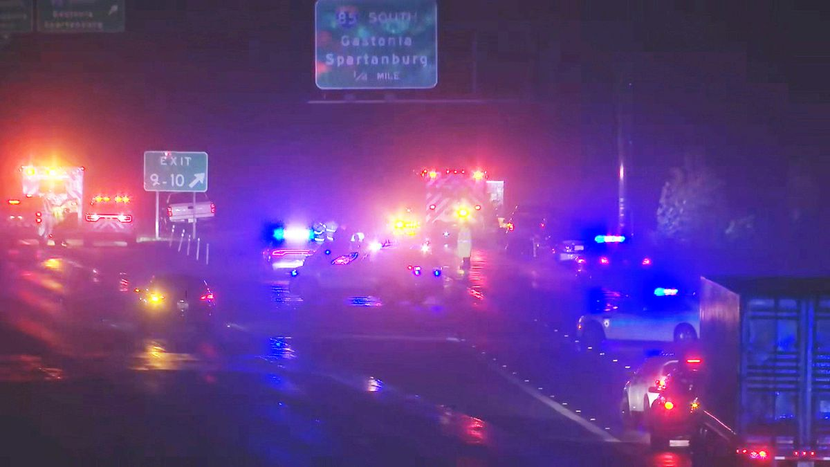 Two killed in serious crash on I-485 involving stolen car, troopers say