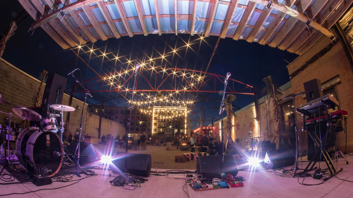 South End hot spot hosting drive-in concert series