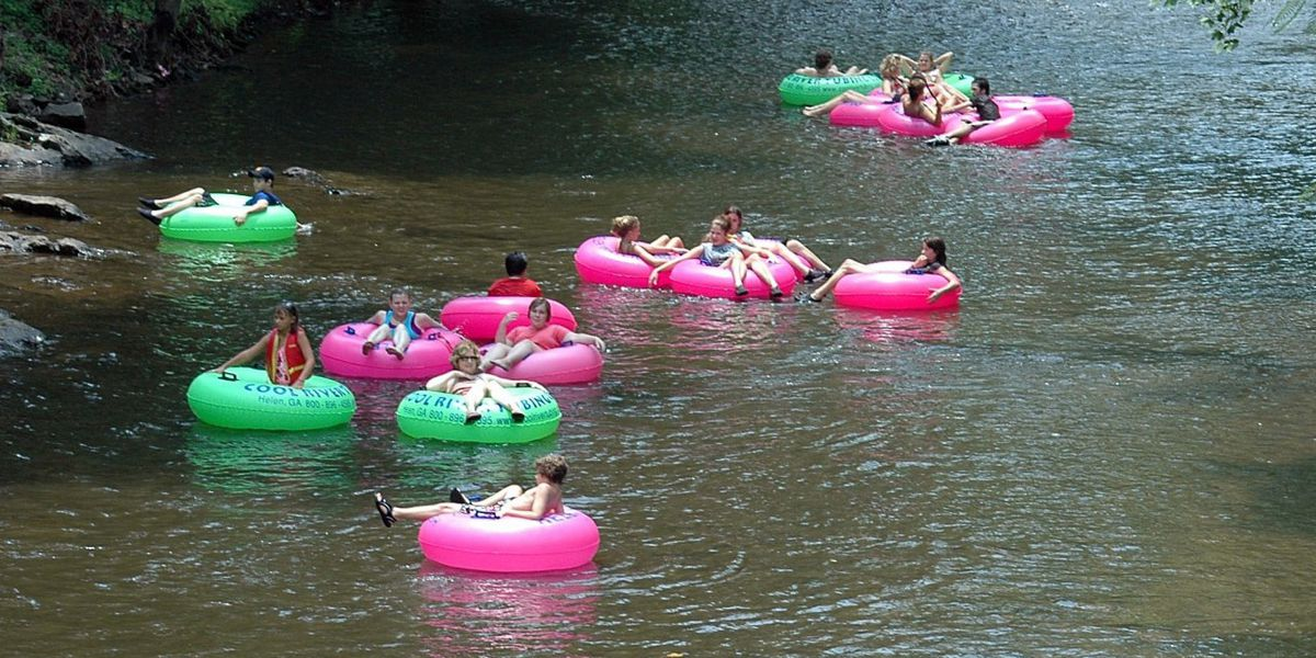 5 perfect places for tubing