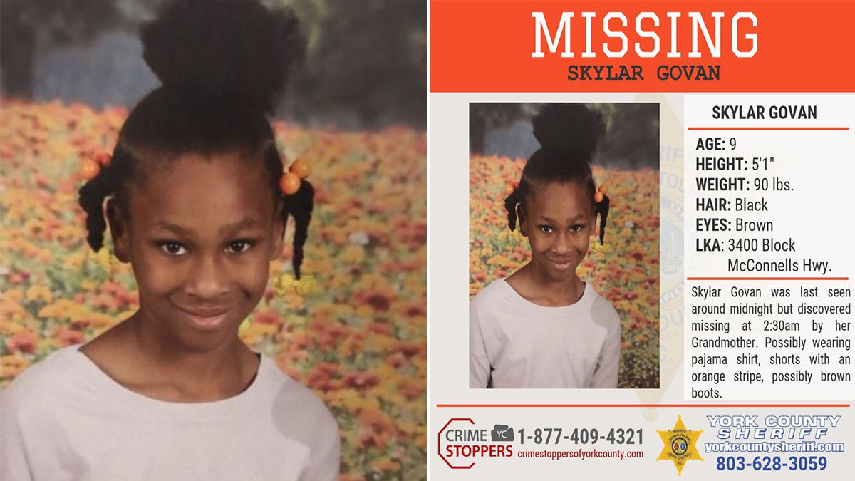 Deputies find missing 9-year-old York County girl safe