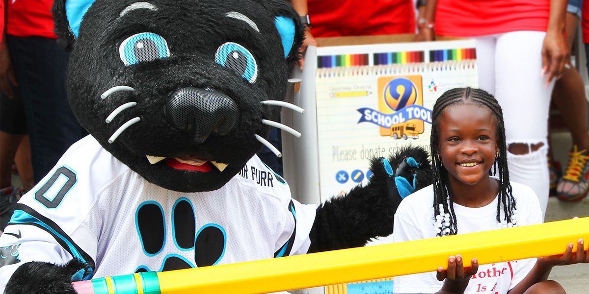 Carolina Panthers to hold 9 School Tools collection at Friday's game