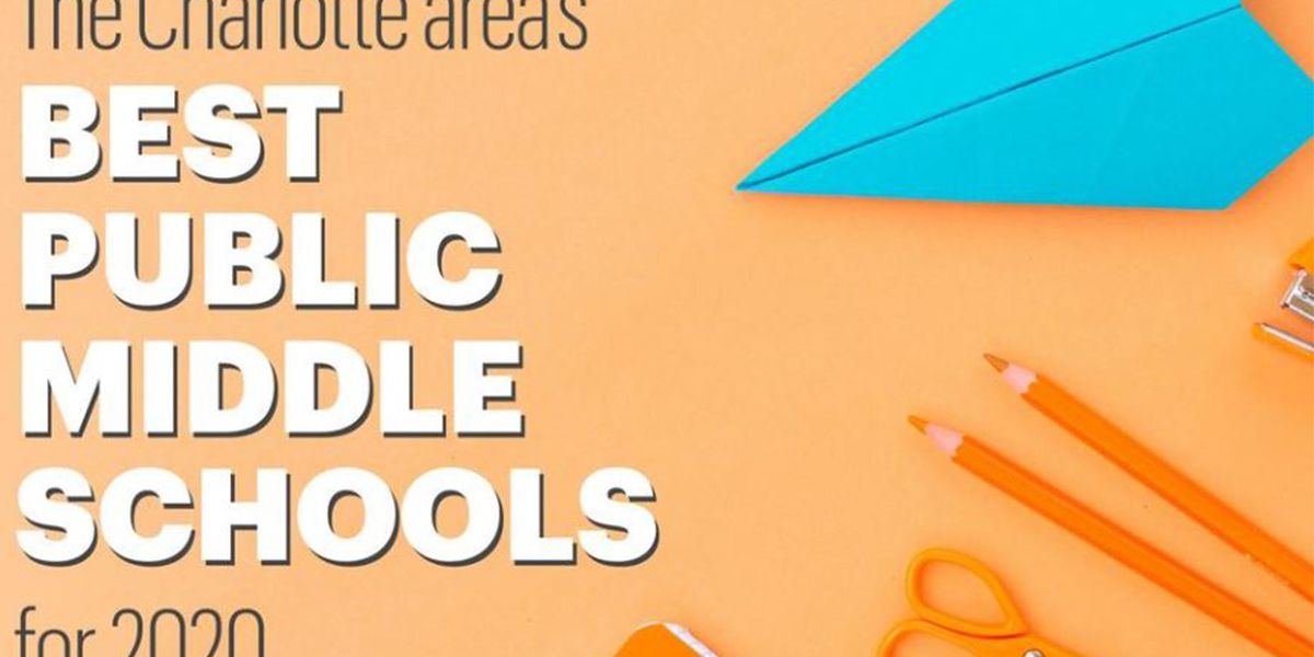 RANKED: The Charlotte area's best public middle schools for 2020