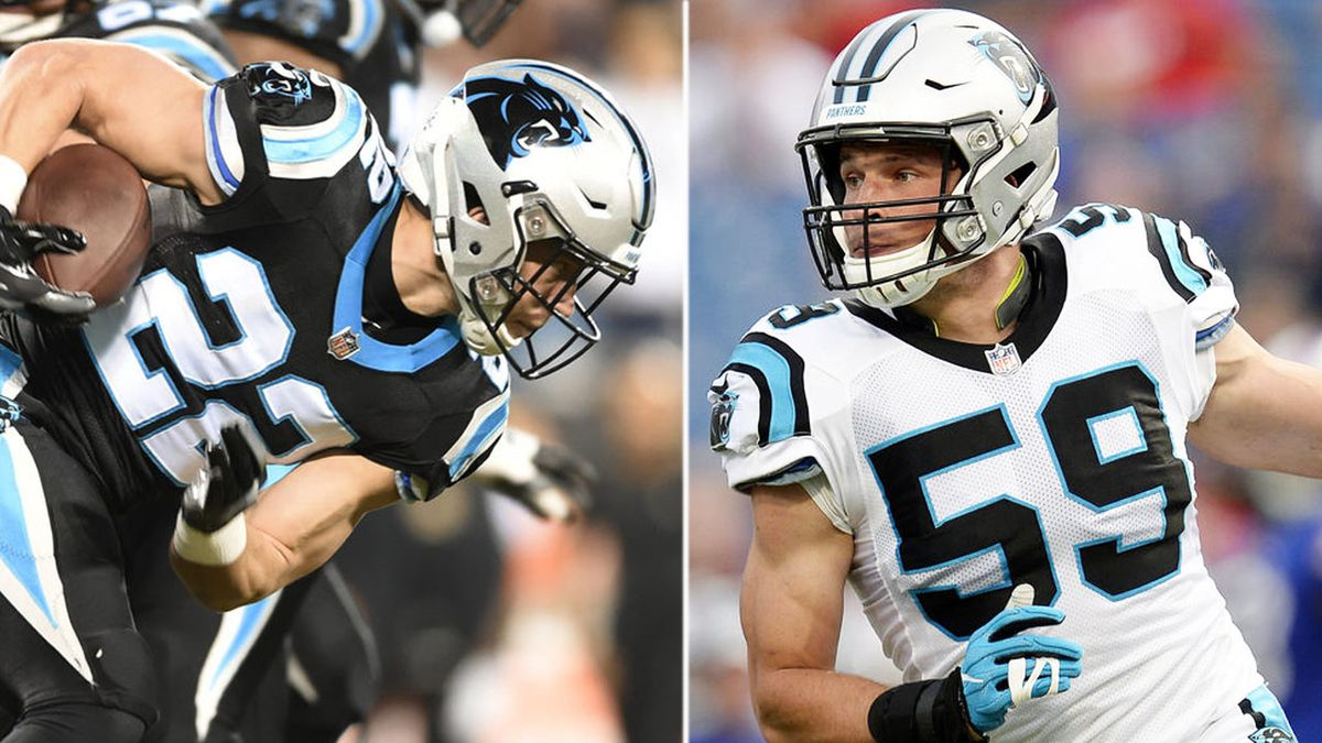 Panthers' McCaffrey named to first Pro Bowl; Kuechly selected for seventh