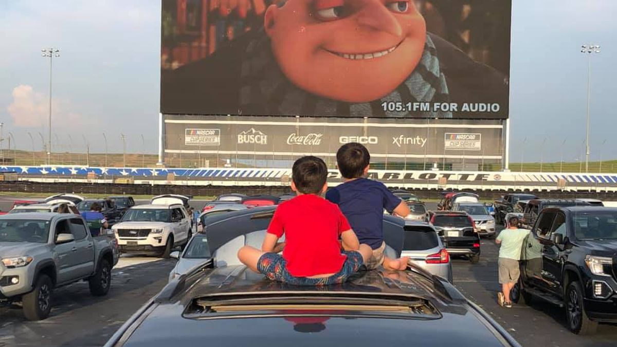Charlotte Motor Speedway to host drive-in movie nights, fireworks