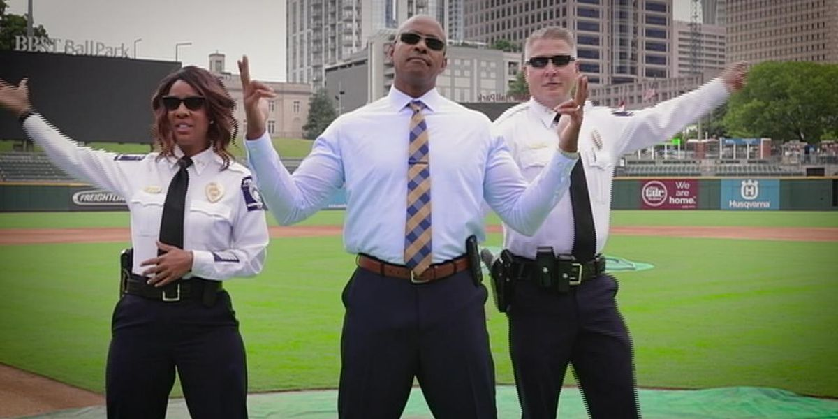 CMPD competes to become USA TODAY's law enforcement lip sync winner