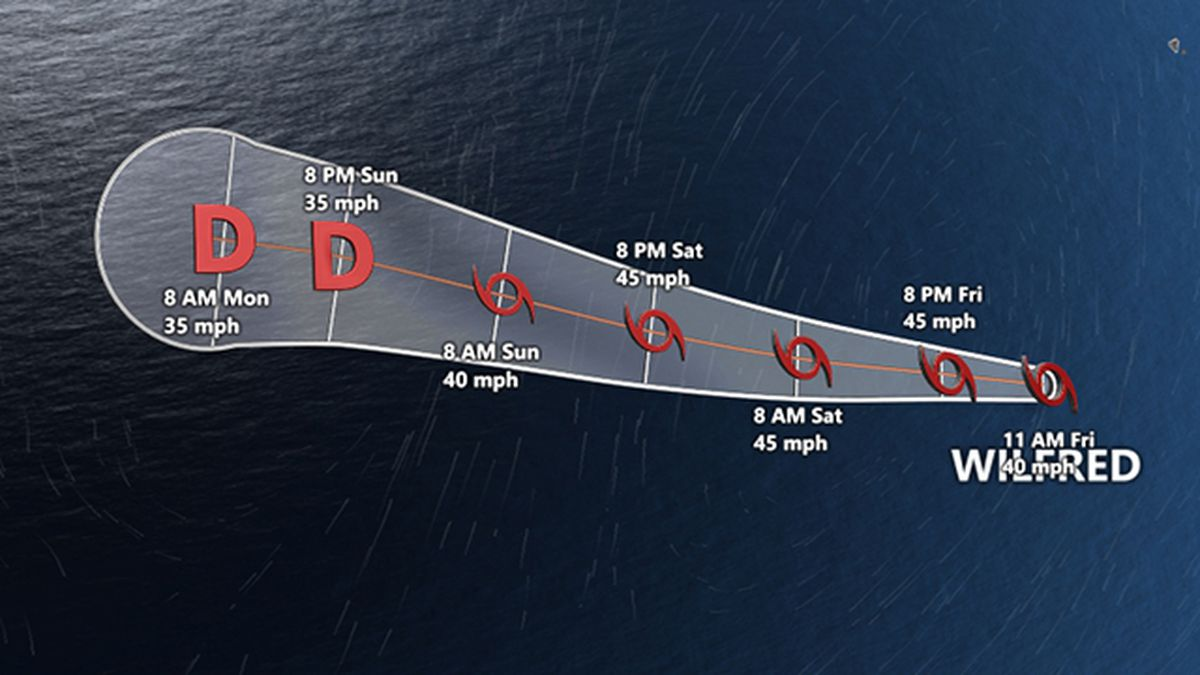 Tropical Storms Alpha, Beta form in Atlantic