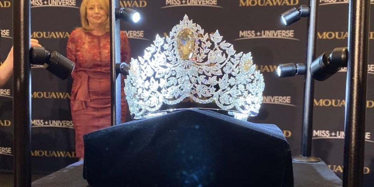 Miss Universe unveils $5 million crown to be used in pageant