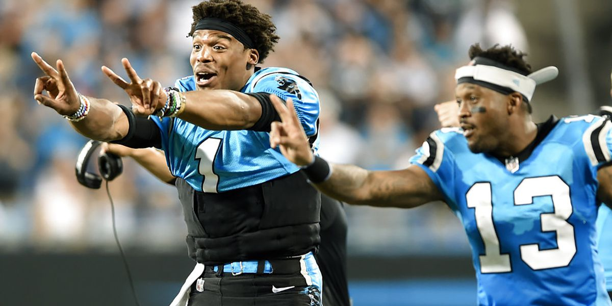 Newton escapes injury, Panthers top Patriots 25-14