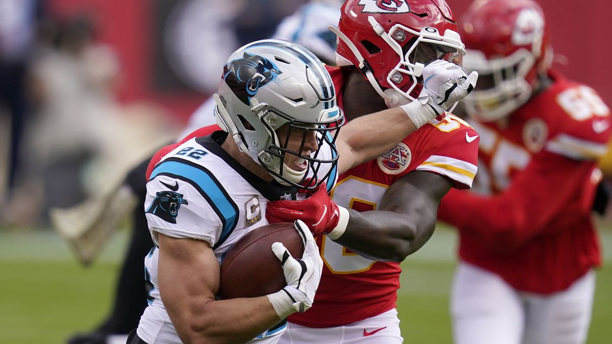 Chiefs escape with 33-31 win when Panthers FG is wide right