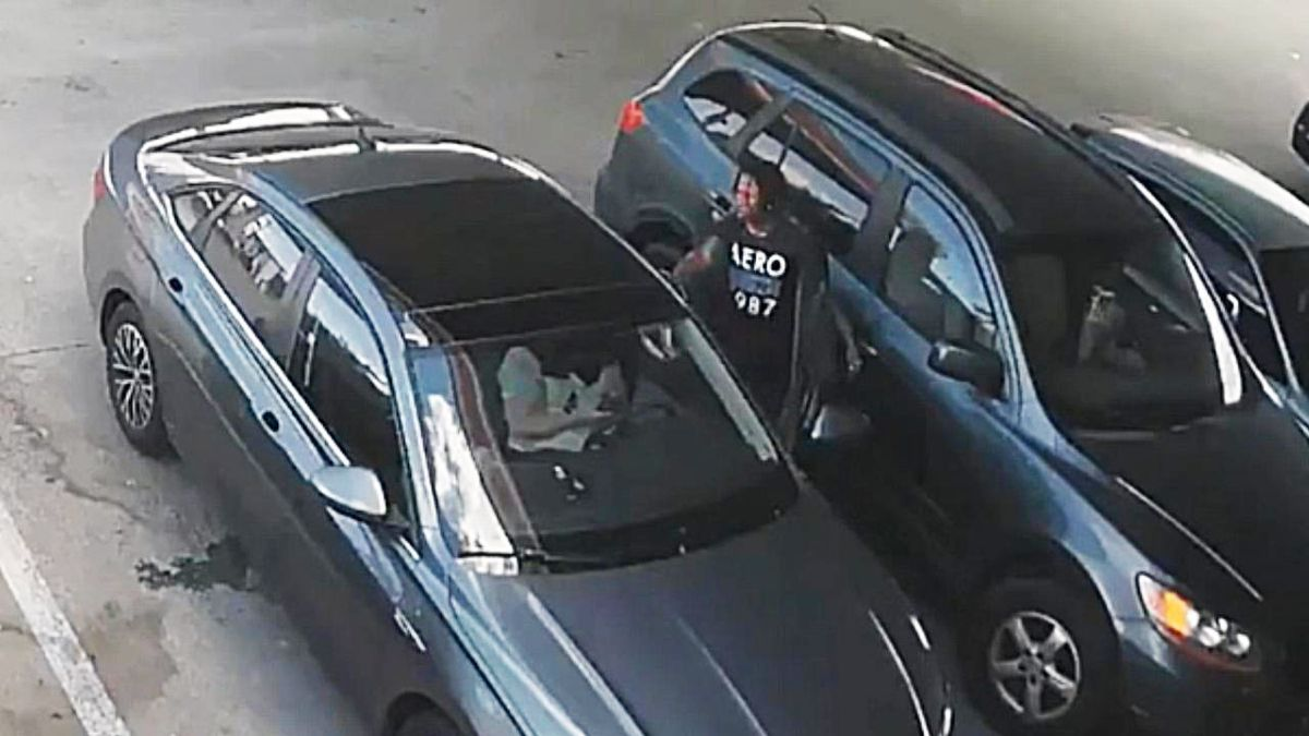 Police looking for man accused of carjacking woman at gas station near Concord Mills