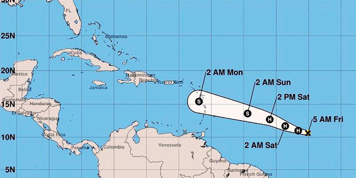 Beryl becomes first hurricane of 2018 Atlantic season