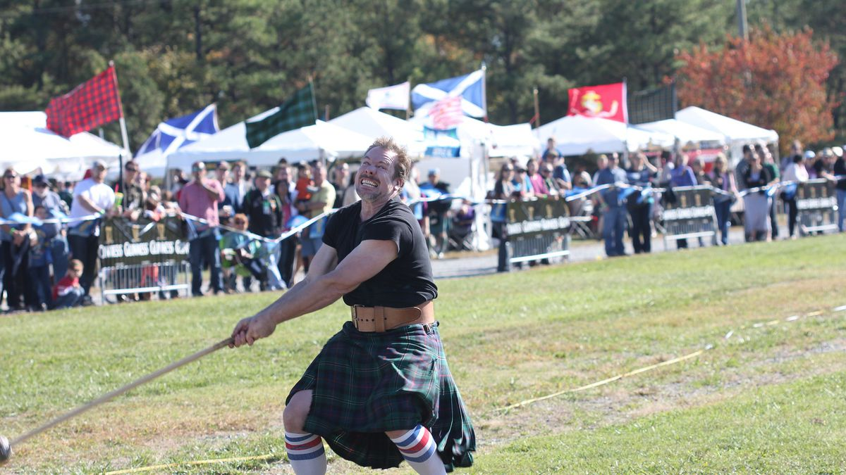 Bands, clans, games highlight Loch Norman Highland Games