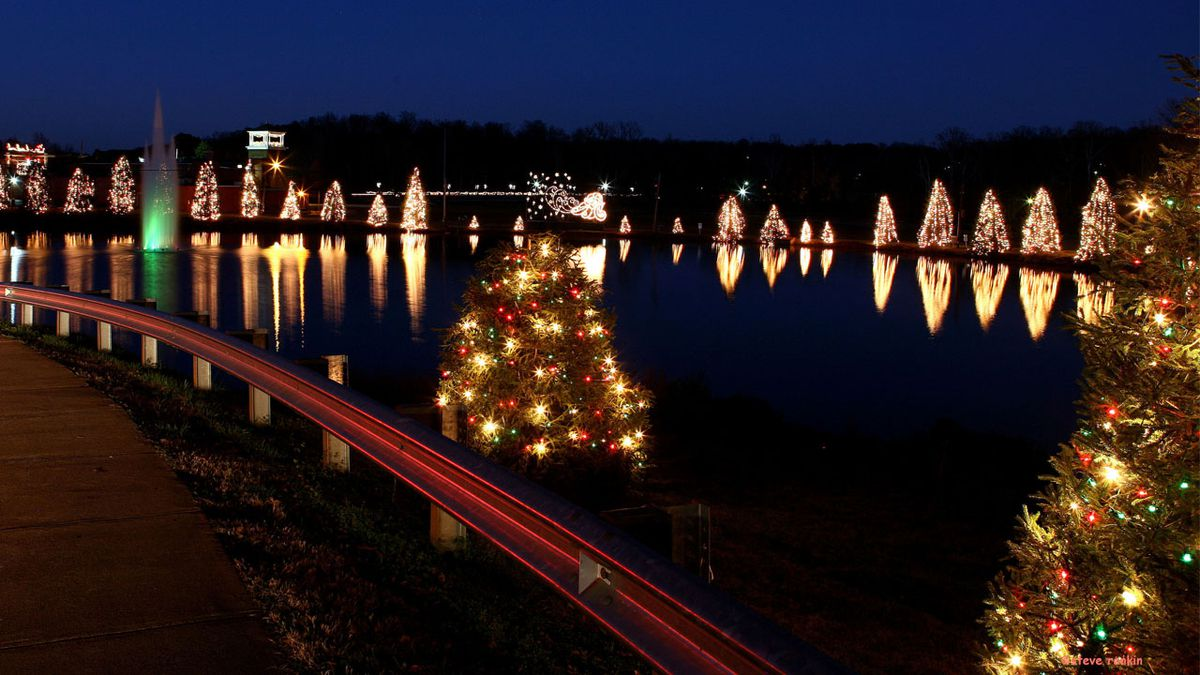 McAdenville lights up as Christmas Town USA