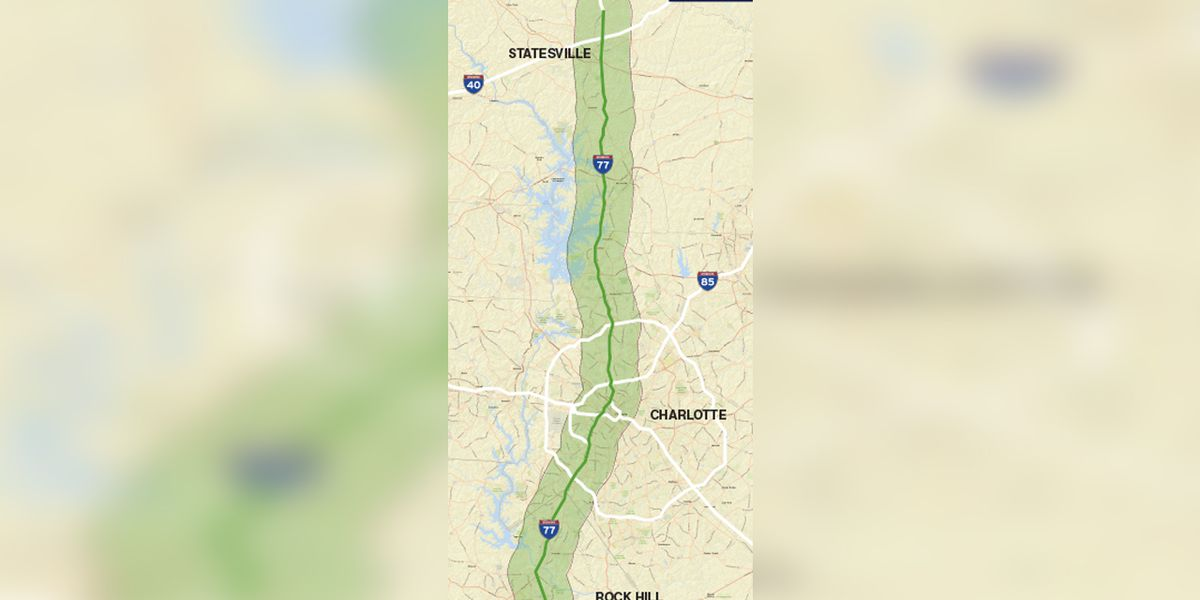 Transportation officials look at easing congestion on I-77