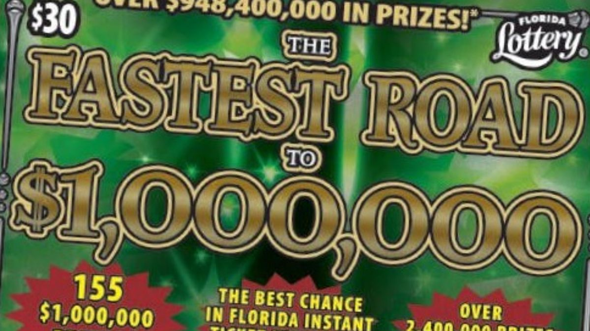 Florida man finds $1M lottery jackpot ticket while cleaning house