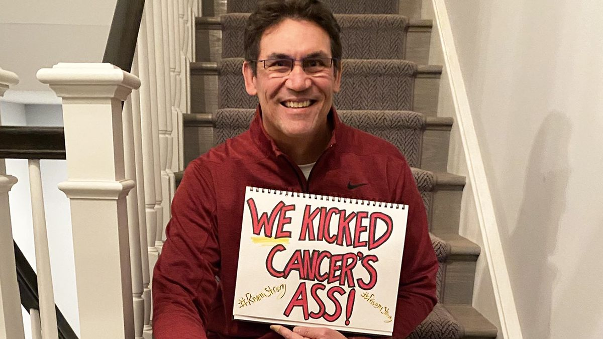 Ex-Panthers head coach Ron Rivera declared cancer-free