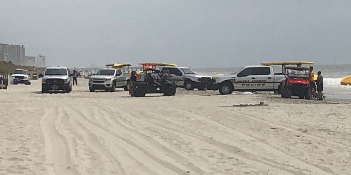 Police investigate after body found in surf at Myrtle Beach State Park