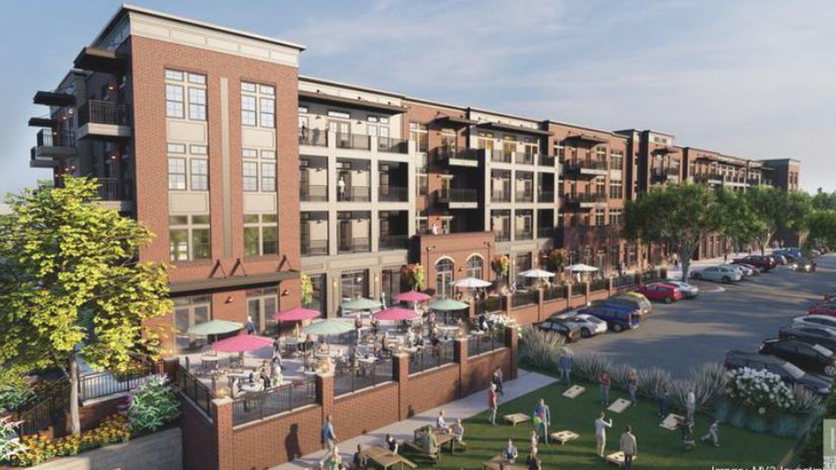 Construction begins for Mill One, a mixed-use development in Mooresville