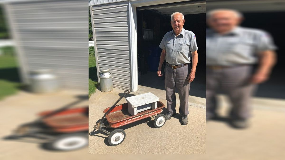 Missing wagon with sentimental value returned to 92-year-old Wisconsin man