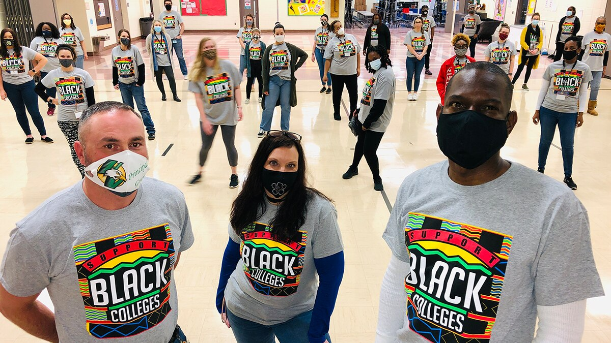A little Charlotte school with a big heart celebrates Black History Month
