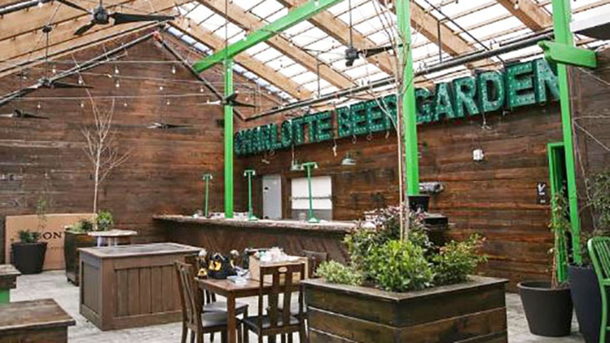 Charlotte Beer Garden opens in South End