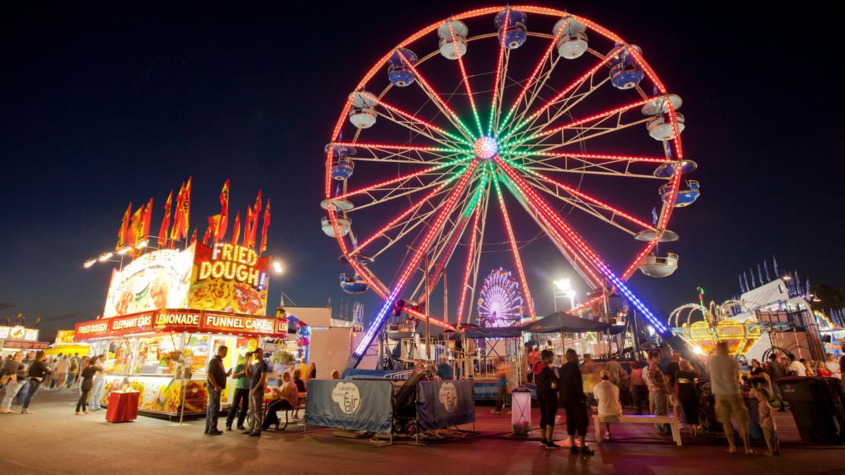It's all fun and games at Cabarrus County Fair