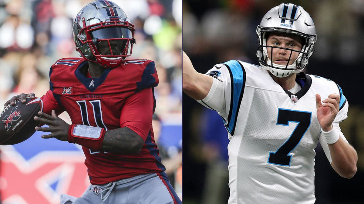 Panthers agree to terms with XFL QB P.J. Walker; trade Kyle Allen to Redskins