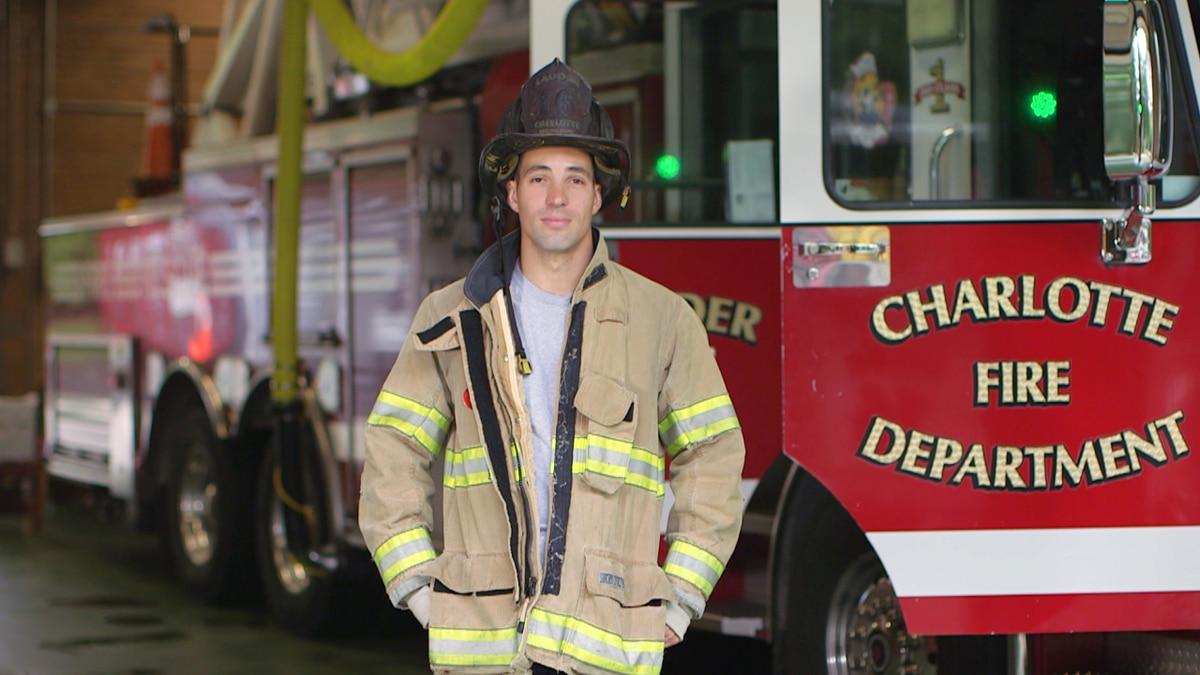 9/11 tragedy created Charlotte firefighter, artist, community builder