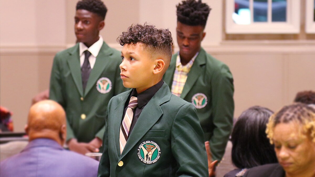 Foundation of positive male role models is bedrock of Boys to Men