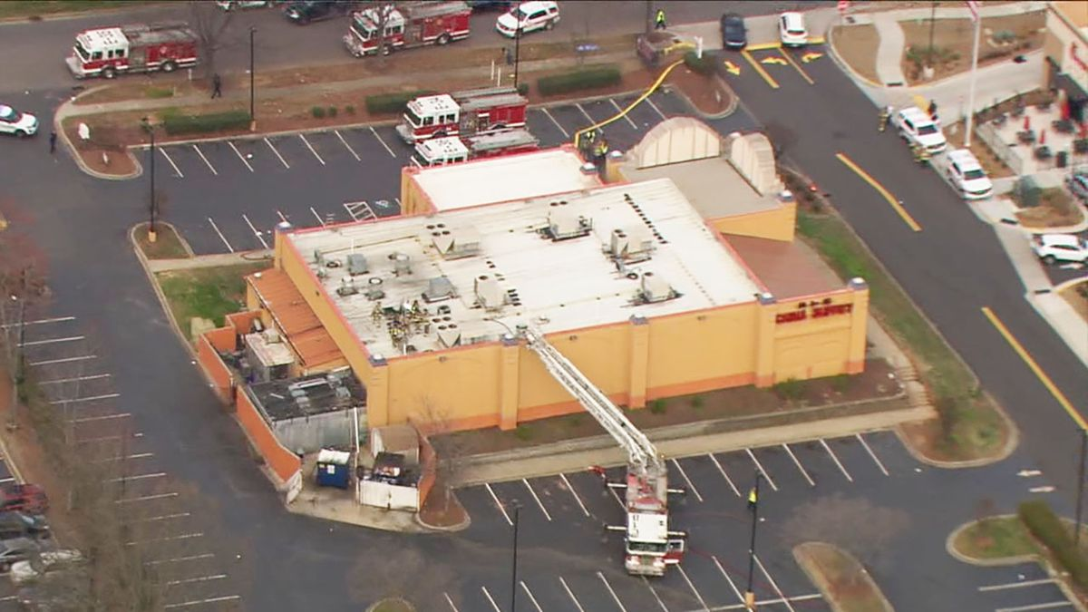 Firefighters quickly put out fire at China Buffet restaurant in University City