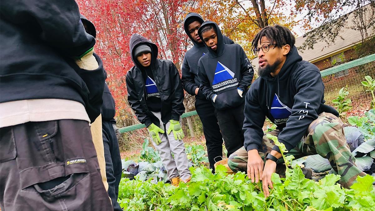 Charlotte group awarded mentoring program of the year