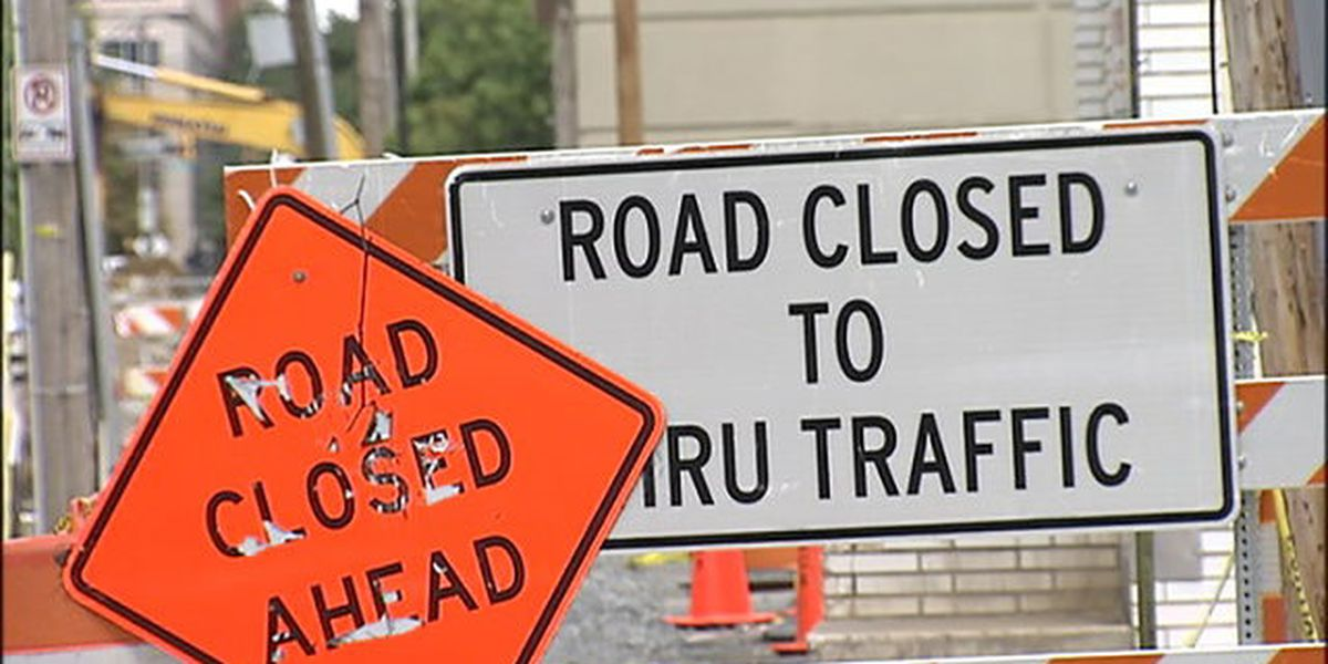 WEEKEND TRAFFIC: Road closures across Charlotte