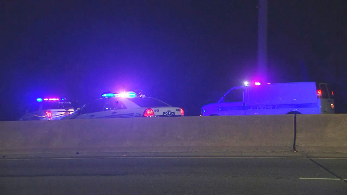 Driver charged with DWI after hitting, killing man on I-277, police say