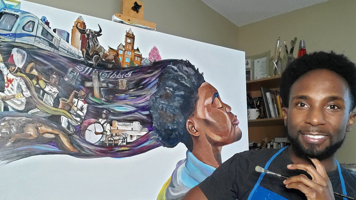 Artists hope to share their vision of Charlotte's Historic West End