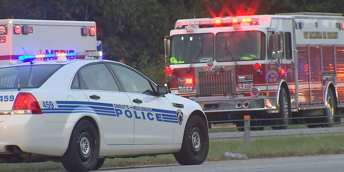 Deadly crash shuts down portion of I-485 in west Charlotte