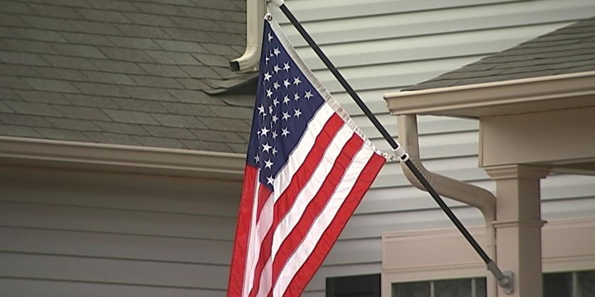 U.S. flags stolen, burned at veterans' cemetery on 4th of July