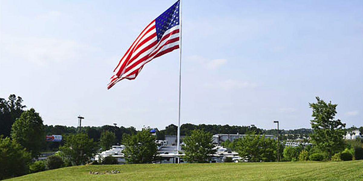 Statesville planning board approves flag size change for RV business