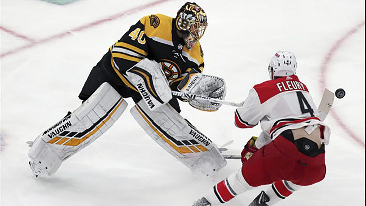 Bruins thump Carolina Hurricanes 6-2, take 2-0 lead in East finals