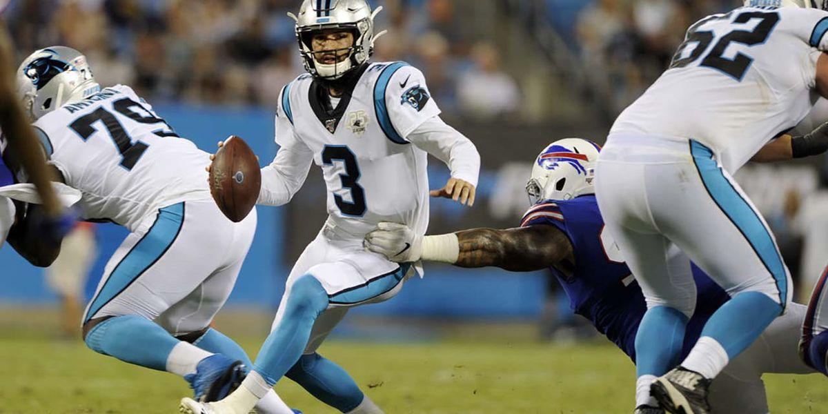 Rivera says Newton's backup in Carolina still uncertain