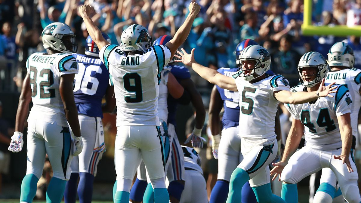 Gano's career-long 63-yard field goal lifts Panthers over Giants 33-31