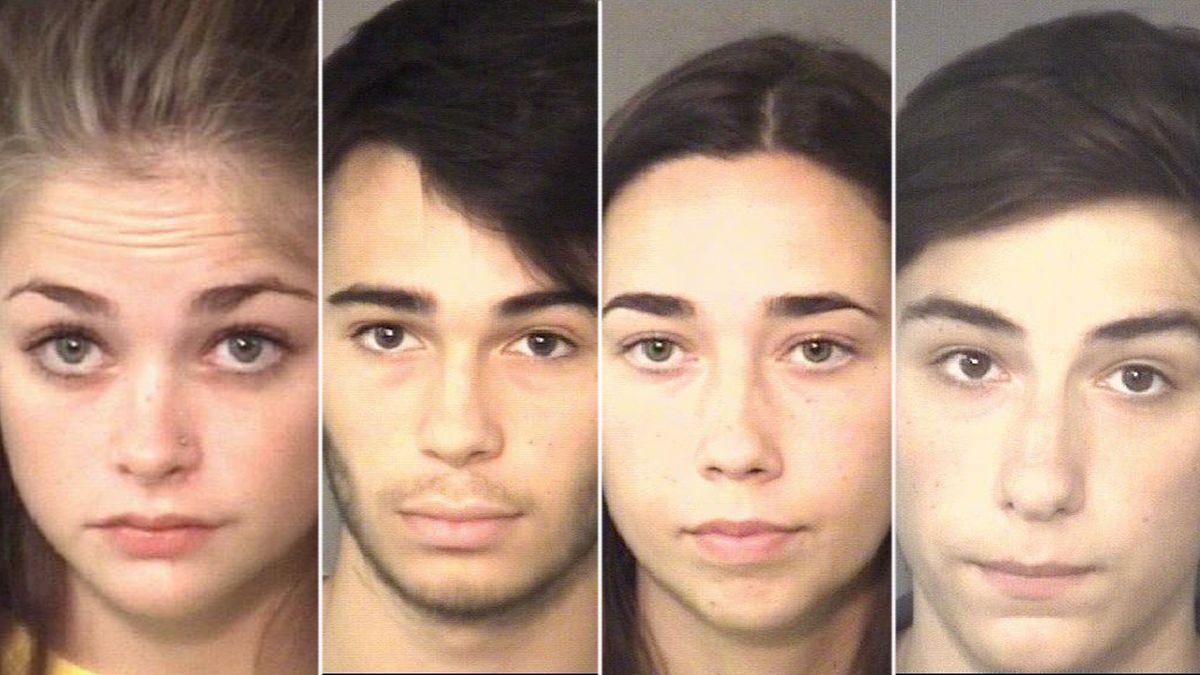 4 high school students accused of breaking into Weddington Elementary School